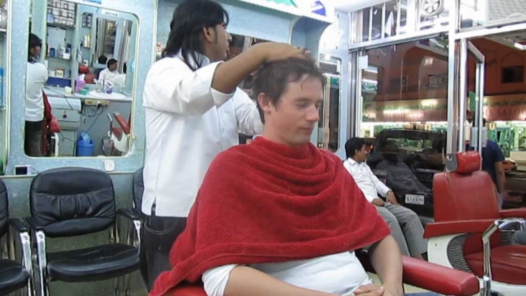 barber shops in India