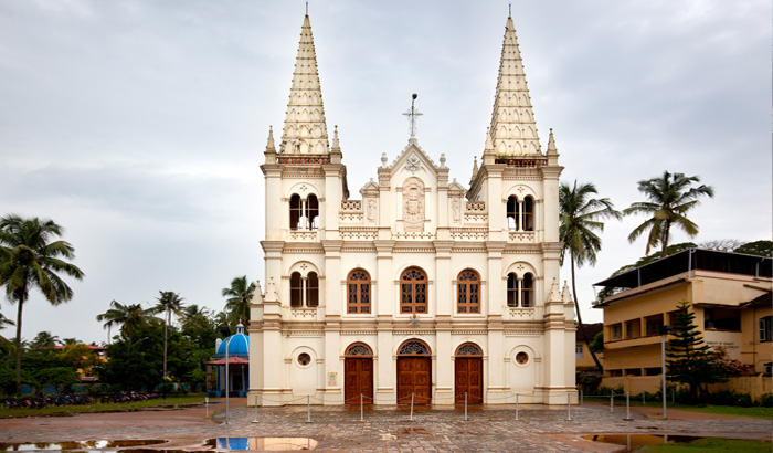 The Roman Catholic Basilica of Santa Cruz Cochin
