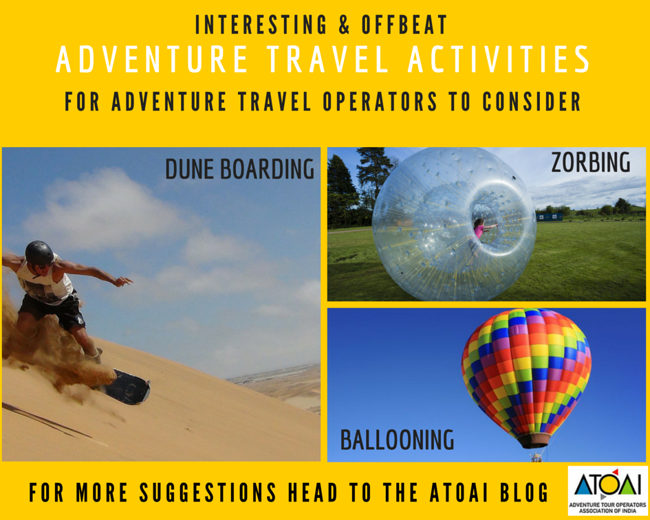 Offbeat Adventure Activities