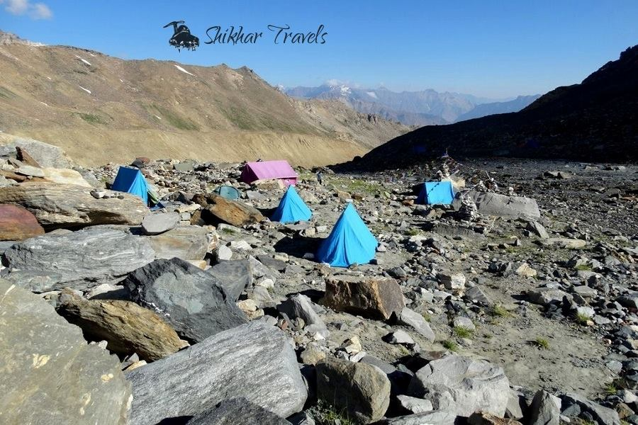 Camp in Nun Expedition