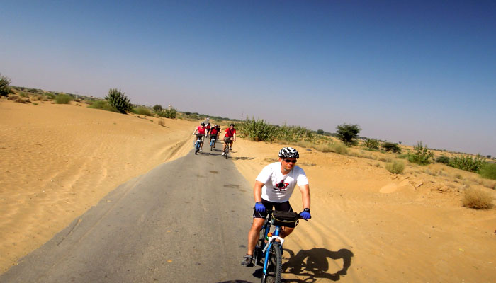 Cycling tours in Rajasthan