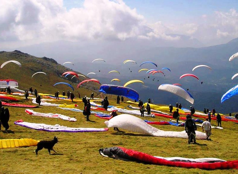 AAI Paragliding World Cup at Bir near Palampur, Dharamsala