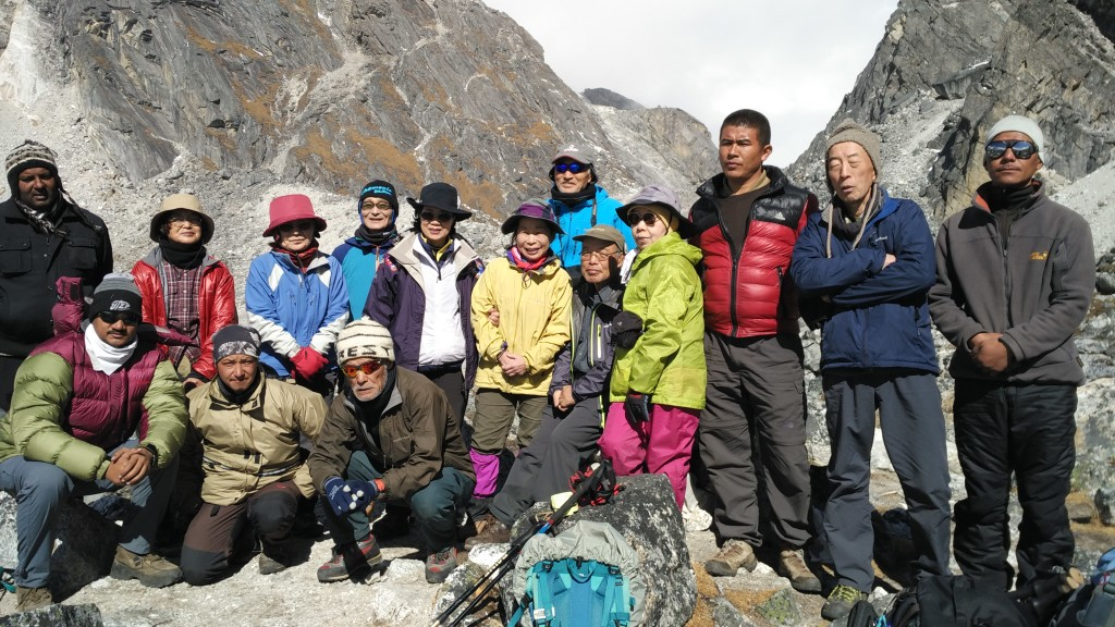 Team Goechala Trek, Sikkim