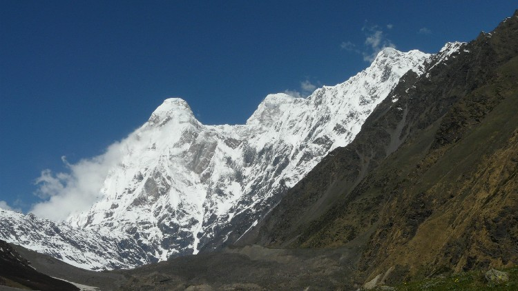 Nanda devi from Base camp