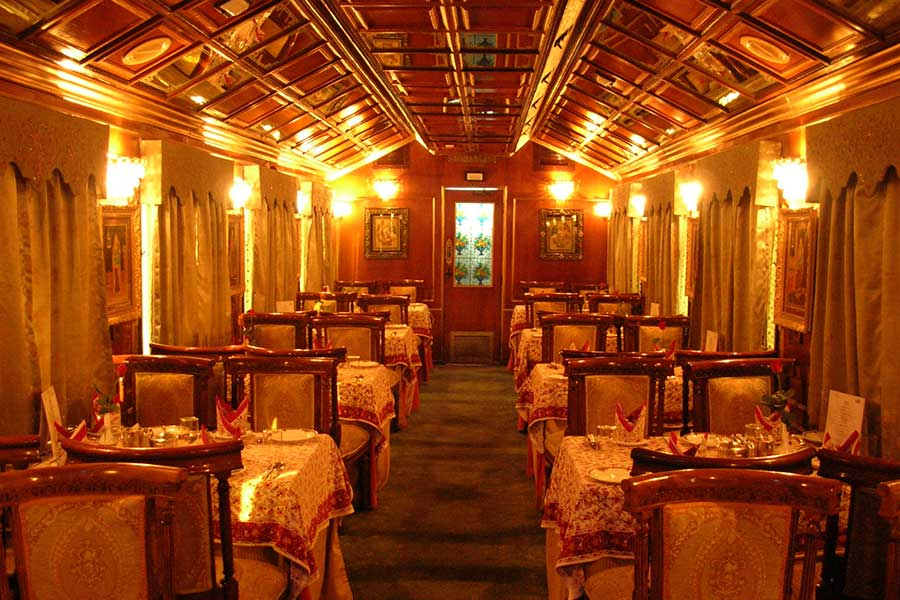 Palace on Wheels Onboard Restaurant