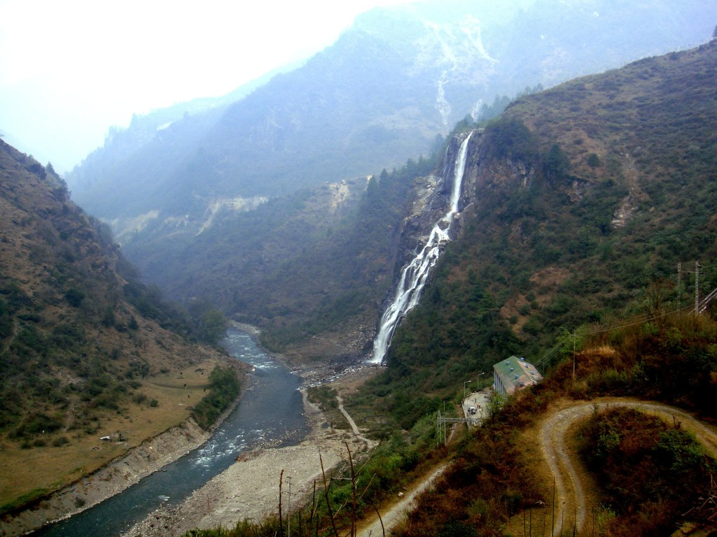 Waterfall in Arunachal Pradesh