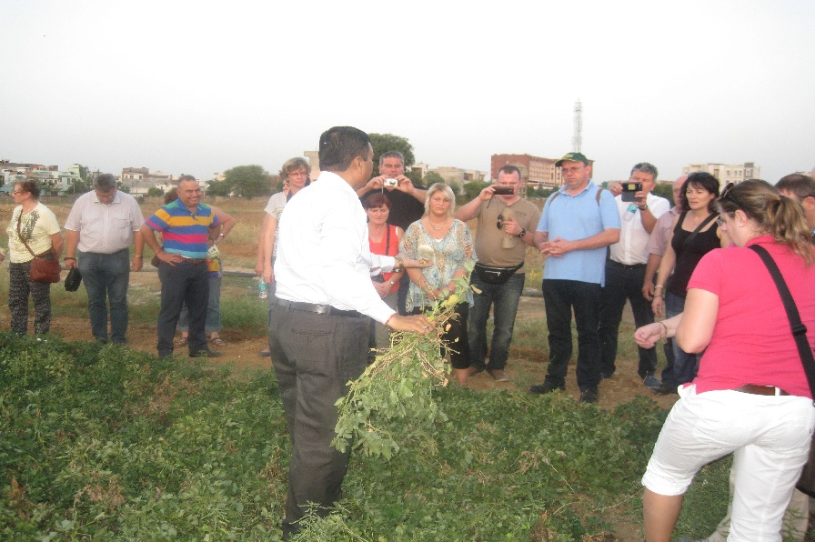 agriculture tour india