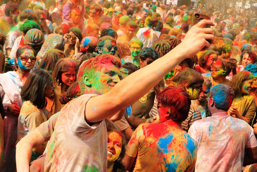 Best places to celebrate Holi in India, mathura