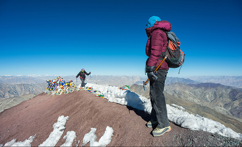 Stok Kangri Summit Point