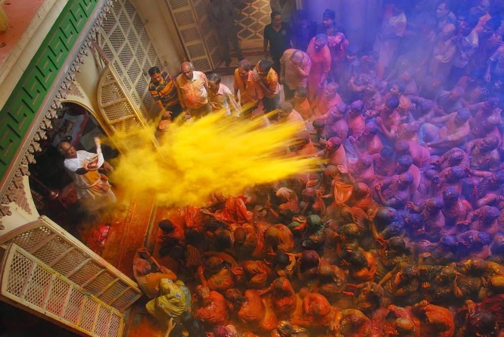 Holi in Jaipur, India