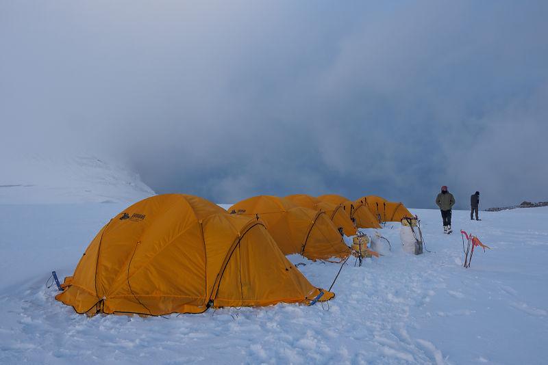 Camp 1 (5500 m) - Nun Expedition