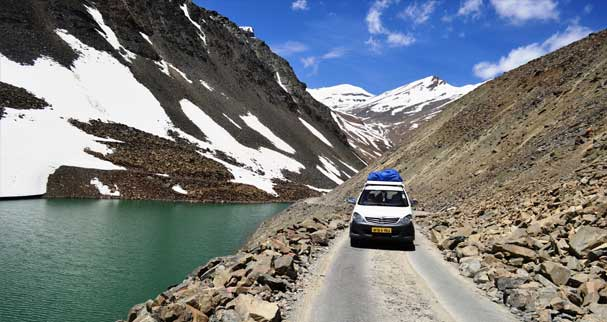 jeep safari experience in Ladakh