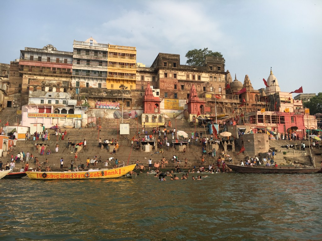 THE GHATS OF GANGES, VARANASI