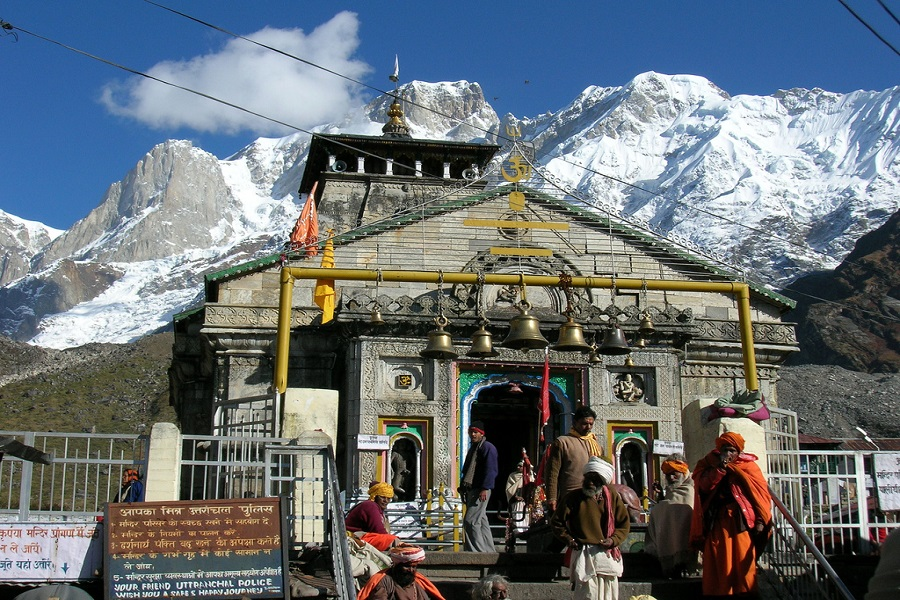 Kedarnath temple - Char Dham Tour