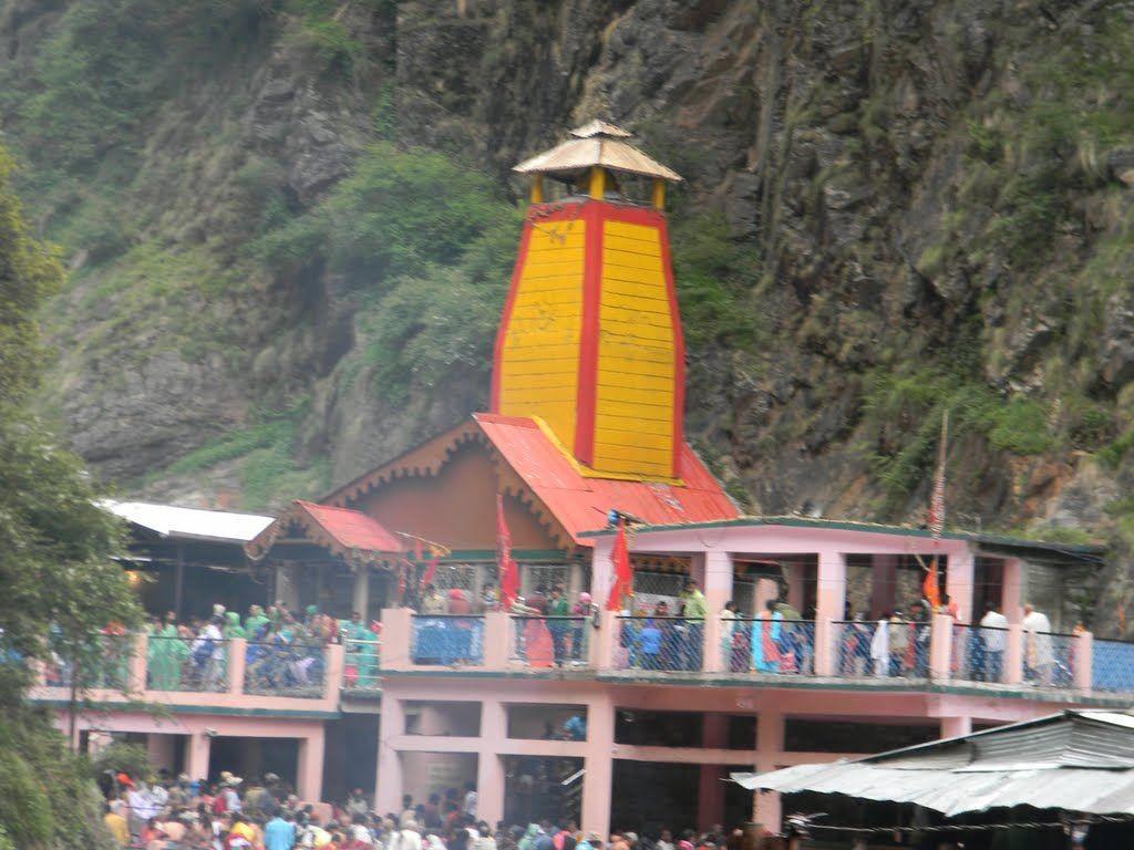 Yamunotri Temple - Char dham yatra