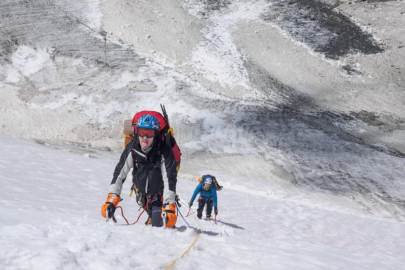 Climbing Mount Nun