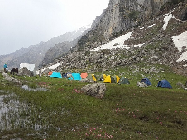 Mount Deo Tibba Base Camp