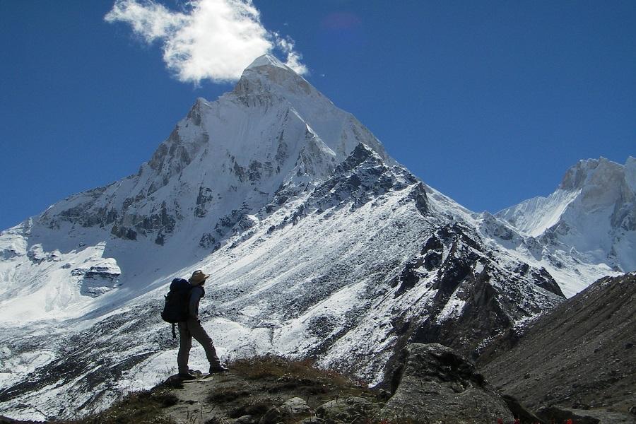 mount shivling peak
