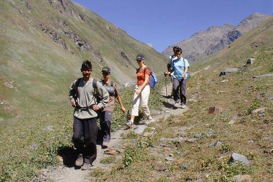 Milam Glacier Trek