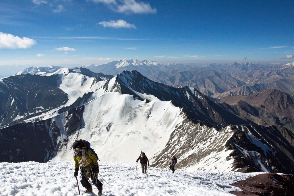 near to summit - stok kangri