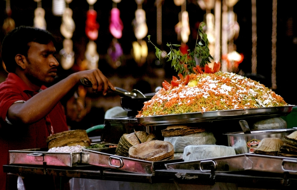 Food trails of India