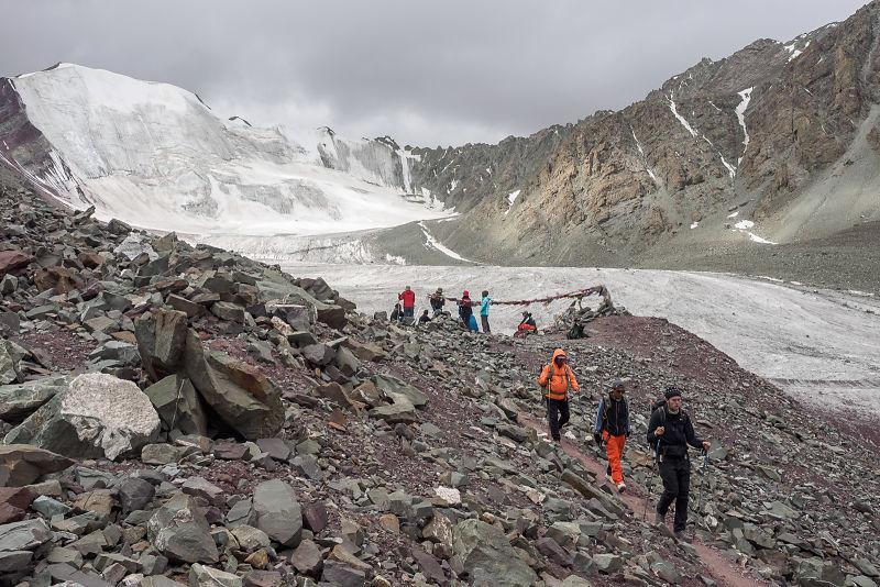 Stok Kangri advanced base camp (5300 m)
