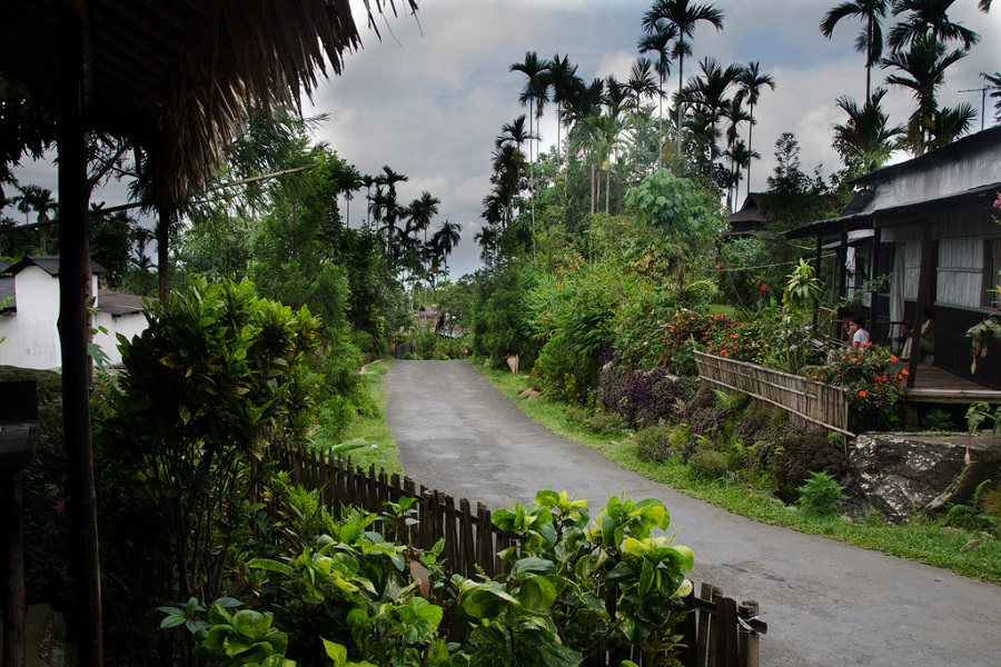 Mawlynnong cleanest village all around Asia