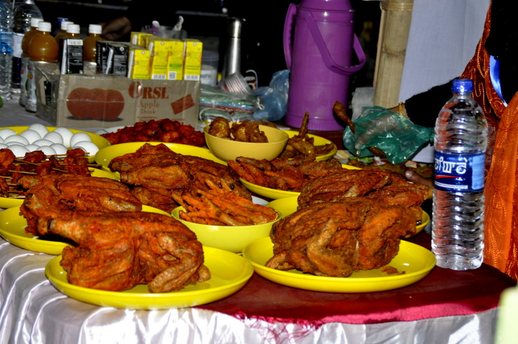 food available in sangai festival