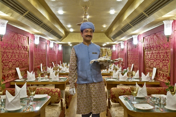 Royal Rajasthan on Wheels - Onboard Restaurant
