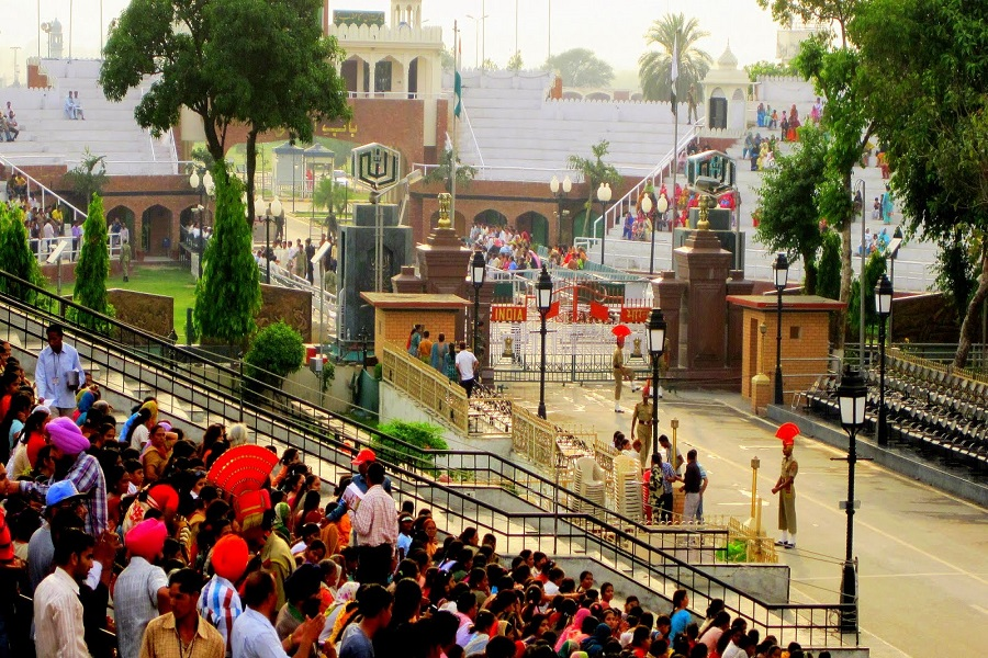 Wagah border - plac to visit in punjab
