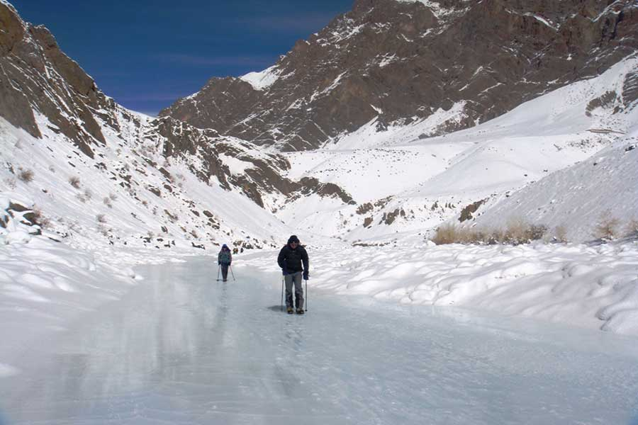 Chadar Trek on Frozen Zanskar River