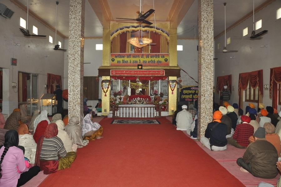 gurudwara damdama shaib smagam