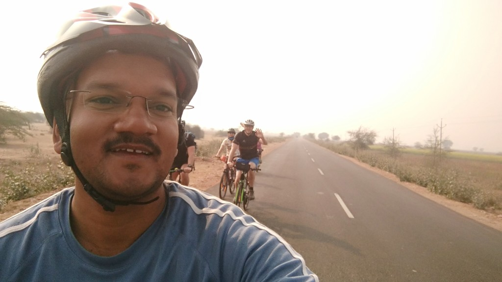 Shikhar Tourist Guide on Rajasthan cycling tour