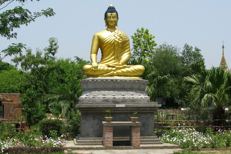 Lumbini birthplace of Gautam Buddha