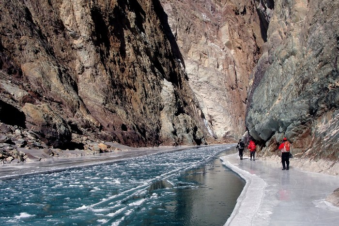 Chadar Trek in Zanskar