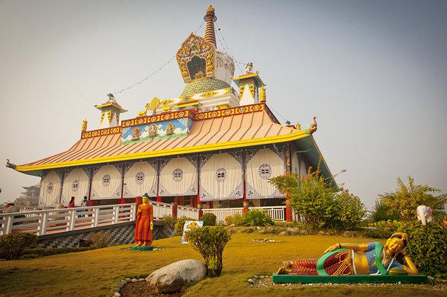 lumbini temples