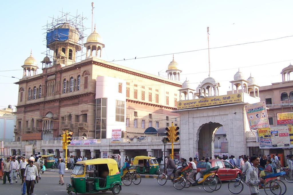 Sis Ganj Sahib at Delhi