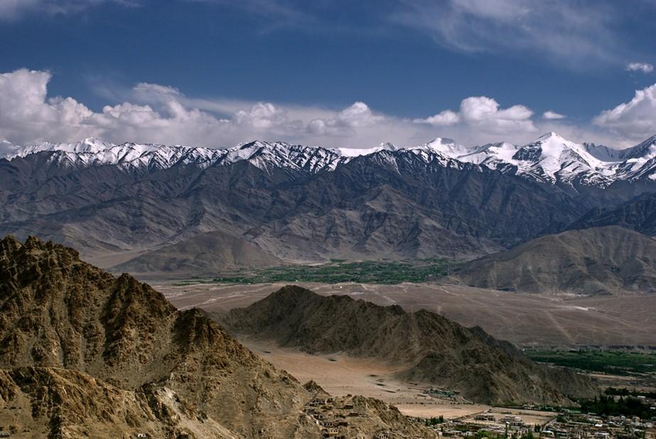 Zanskar ranges in Ladakh