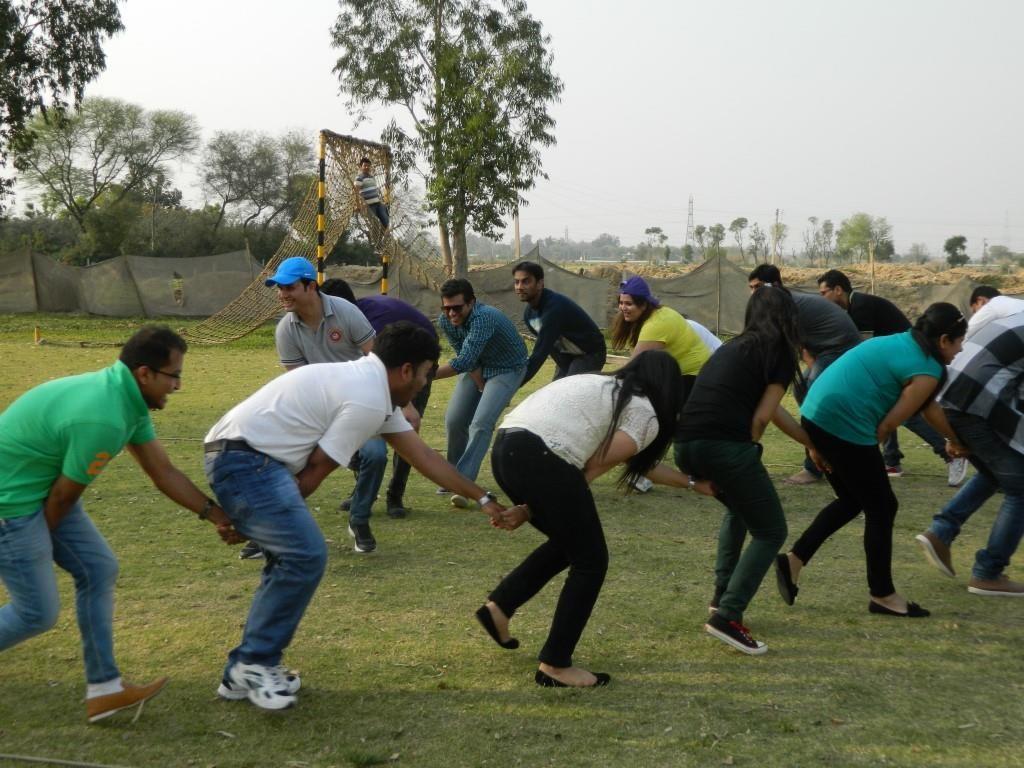 Corporate team building activities in gurgaon