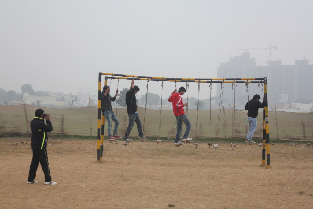 adventure activities in shikhar adventure park, gurgaon