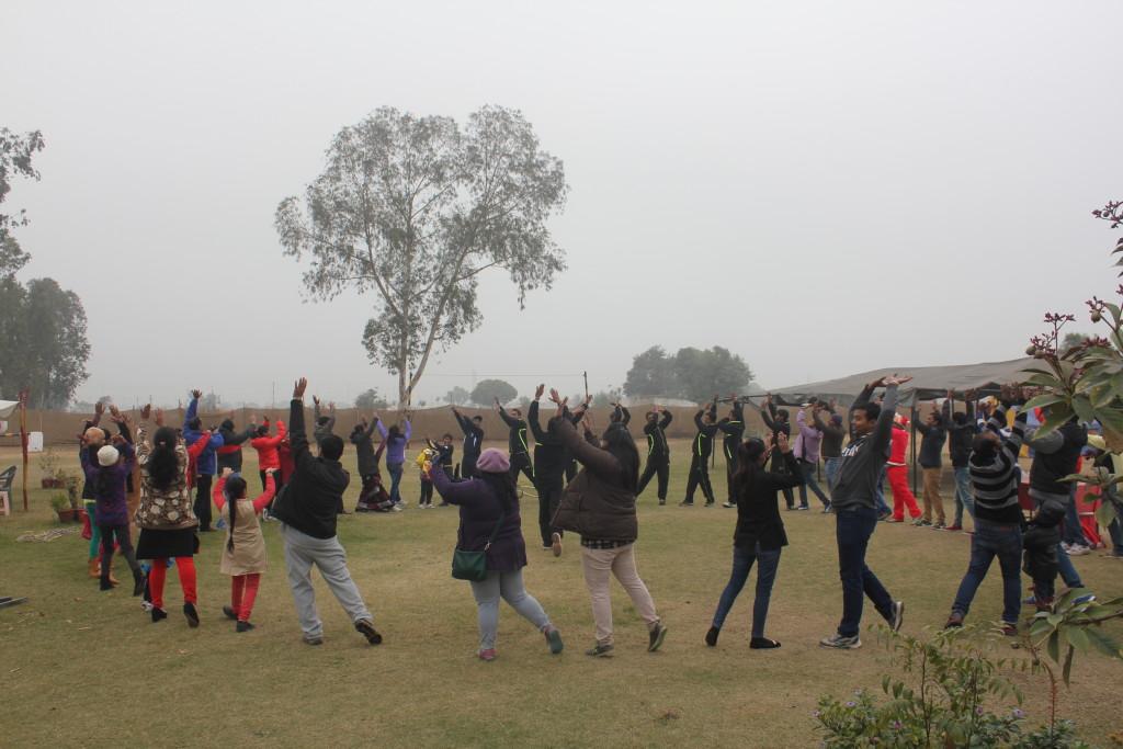 Family adventure in shikhar adventure park