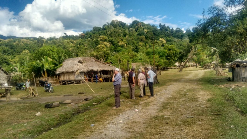 visit of a village in Pahighat