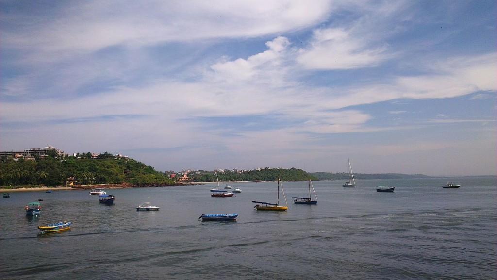 Fishing Boats anchored at Dona Paula Goa