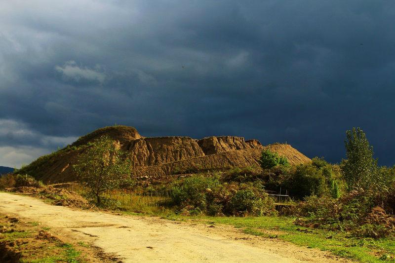 landscape at Ziro Valley Arunachal Pradesh