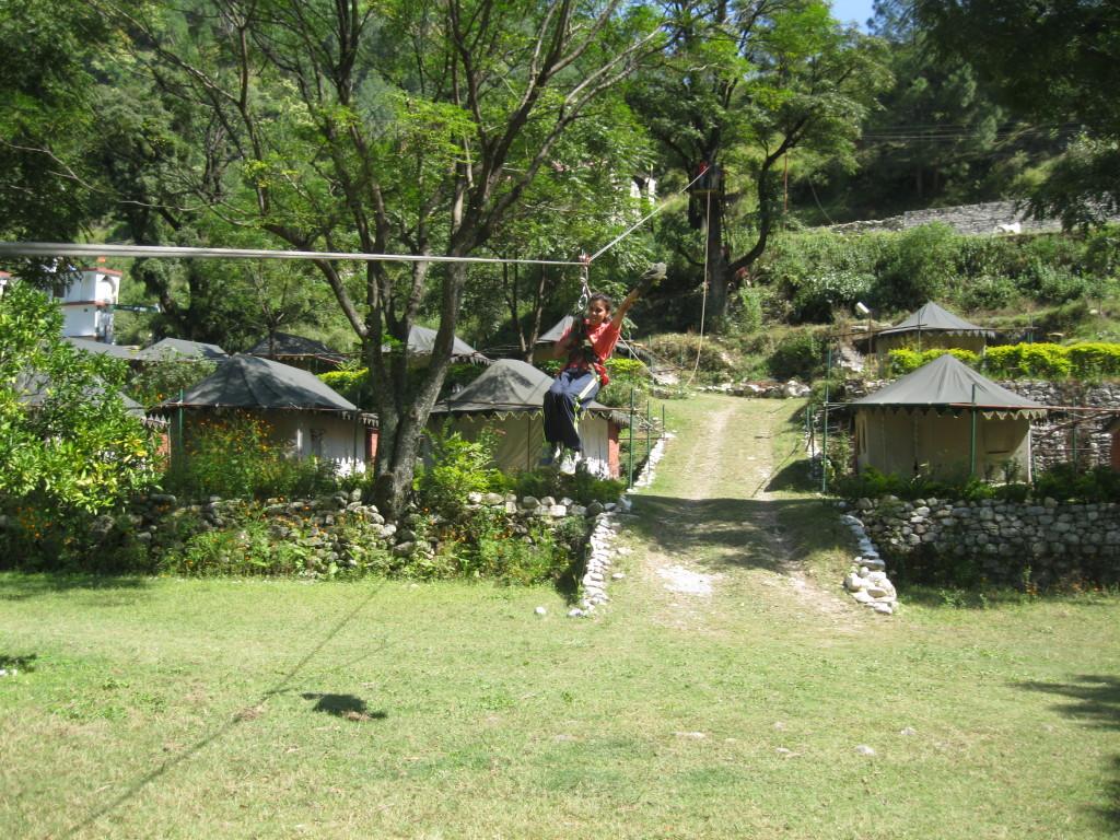 adventure activities in summer camp uttarkashi