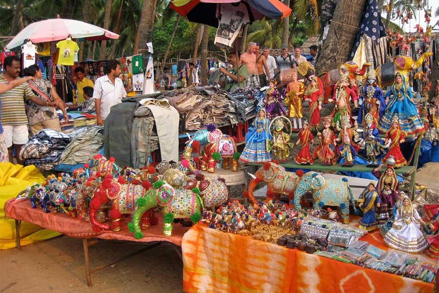 Market in Viva Carnival Goa