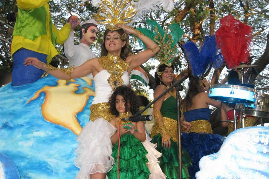 Dance in Viva Carnival Goa