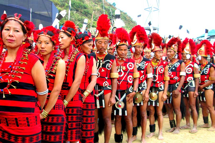 Tribal Dance in Nagaland