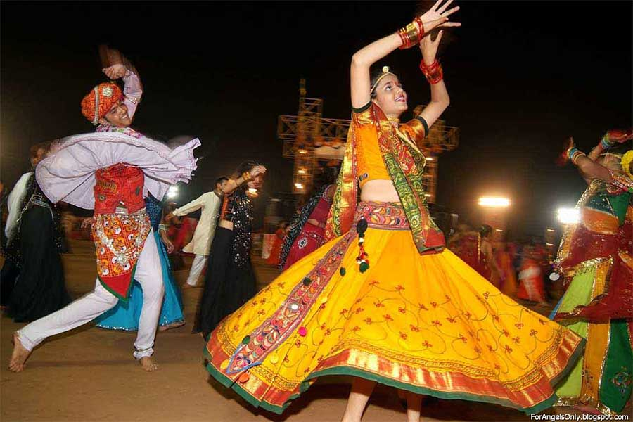 Folk Dance in Gujarat
