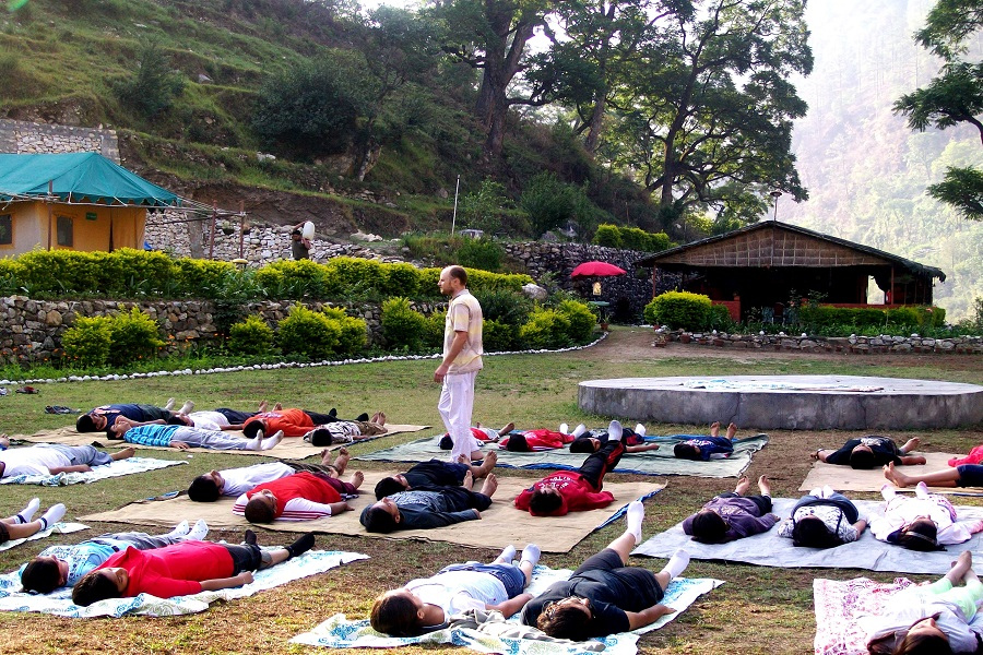 Yoga in Uttarkashi
